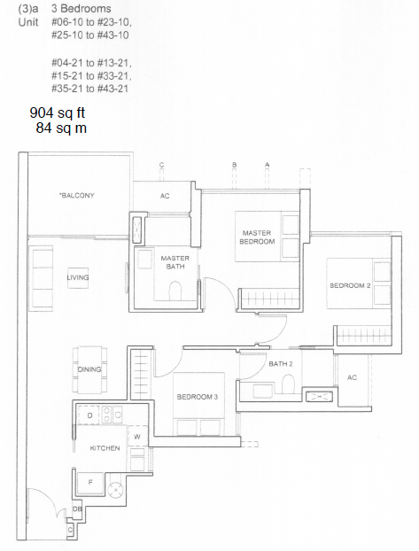 Commonwealth Towers Condo Floor Plans Queenstown Condo